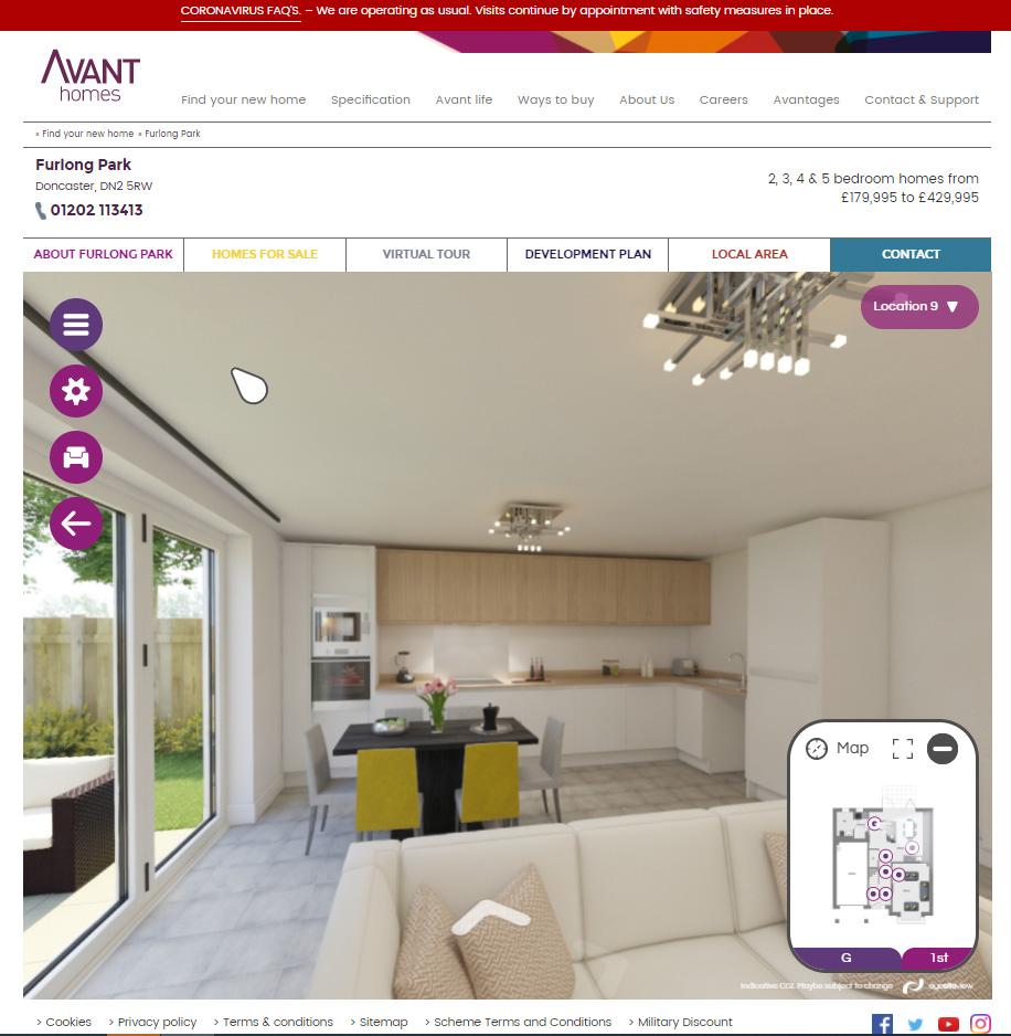 Furlong Park - Website Integration